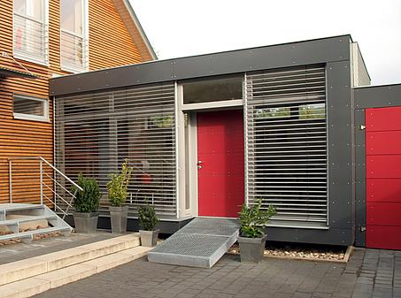 sieker architekten 086 anbau. Black Bedroom Furniture Sets. Home Design Ideas